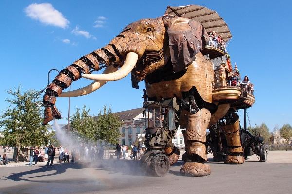 Elephant Nantes Machine de l ile crédit Guilhem Vellut